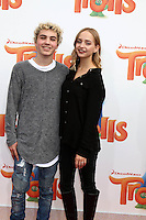 WESTWOOD, CA - OCTOBER 23: Sam Portroff, Acacia Brinley at the premiere Of 20th Century Fox's 'Trolls' at Regency Village Theatre on October 23, 2016 in Westwood, California. Credit: David Edwards/MediaPunch