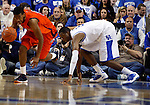 Terrence Jones chases after the ball in the second half of UK's win over the Auburn Tigers at Rupp Arena on Jan. 11, 2011. Photo by Britney McIntosh   Staff
