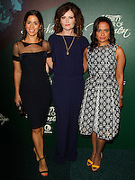 BEVERLY HILLS, CA, USA - OCTOBER 10: Ana Ortiz, Rebecca Wisocky, Judy Reyes arrive at the 2014 Variety Power Of Women held at the Beverly Wilshire Four Seasons Hotel on October 10, 2014 in Beverly Hills, California, United States. (Photo by Celebrity Monitor)