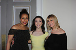 Figure Skating in Harlem celebrates 20 years - Champions in Life benefit Gala on May 2, 2017 honoring Sasha Cohen, and Curtis McGraw Webster and presenting Scott Hmailto with The Power of Inspiration Award at 583 Park Avenue, New York City, New York. Attending are Meryl Davis, JoJo Starbuck. (Photo by Sue Coflin/Max Photos)