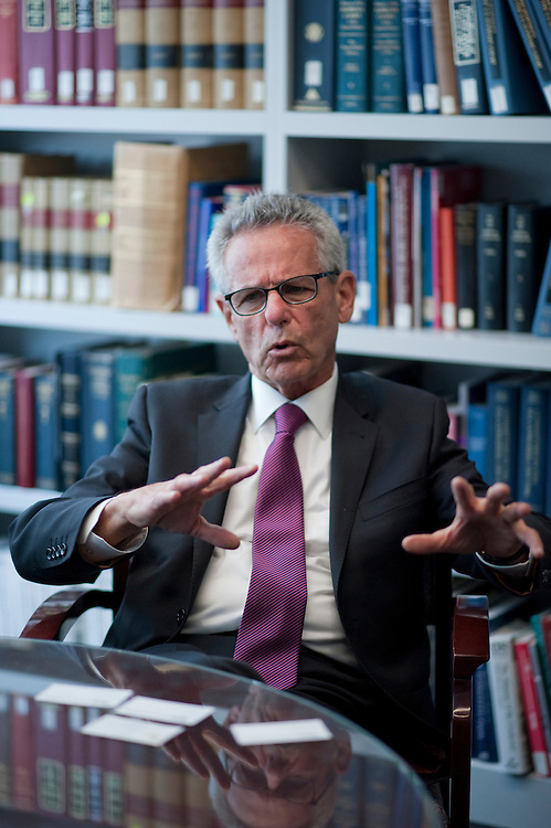 UNITED STATES - July 31: Alan Lowenthal (D) California is interviewed at Roll Call in Washington, D.C.  (Photo By Douglas Graham/CQ Roll Call)