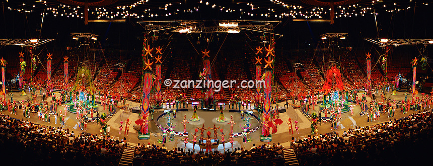 3 Ring Circus Tent Performers CGI Backgrounds, ,Beautiful Background