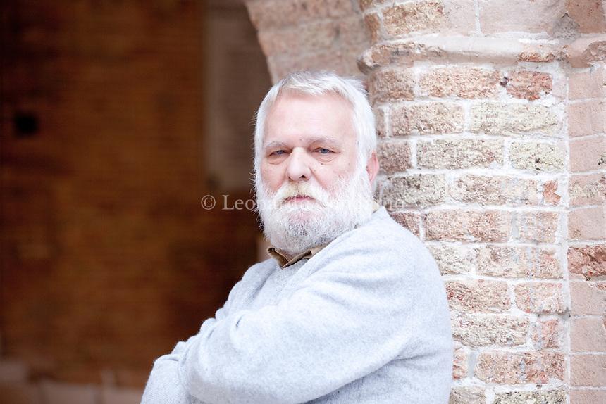 Marco Salvador is an Italian writer and historian. Pordenone, settembre 2012. © Leonardo Cendamo
