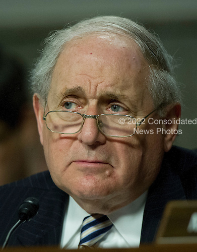 United States Senator Carl Levin (Democrat of Michigan), Chairman, U.S. Senate Armed Services Committee, listens as General John R. Allen, USMC, Commander, International Security Assistance Force and Commander, United States Forces Afghanistan, testifies before the committee on the situation in Afghanistan on Capitol Hill in Washington, D.C. on Thursday, March 22, 2012..Credit: Ron Sachs / CNP