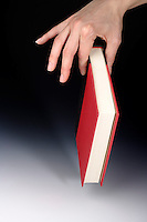 FORCE VECTORS: A BOOK HELD BY THUMB &amp; FOREFINGER<br /> Pinch grip -two fingers exert force<br /> Force can be decomposed into two components: the grip force (horizontal component) and the load force (vertical component). The sum of the load forces must equal the object's weight