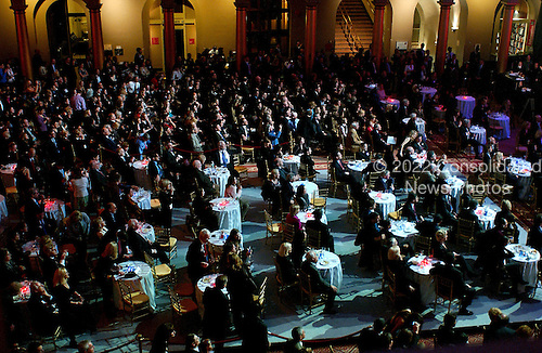 """Washington, D.C. - January 4, 2007 -- Many people paid $ 1,000 each to attend the """"Swearing-in Celebration Concert"""" for U.S. House Speaker Nancy Pelosi at the National Building Museum in Washington, D.C. on Thursday, January 4, 2007.  .Credit: Ron Sachs / CNP"""