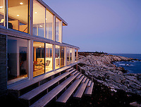 vacation house, New Brunswick, Canada (Julie Snow = architect)