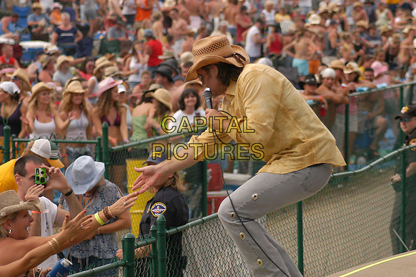 14 July 2005 - Morristown, Ohio - Billy Ray Cyrus. Jamboree in the Hills 2005 - Day One, part of  a four day outdoor Country Music Festival that for the past 28 years has had over 100,000 fans per year flock to the rolling hills of Eastern Ohio to catch the hottest country acts in the nation. Photo Credit: Kelly Blecher/AdMedia