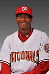14 March 2008: ..Portrait of Francisco Soriano, Washington Nationals Minor League player at Spring Training Camp 2008..Mandatory Photo Credit: Ed Wolfstein Photo