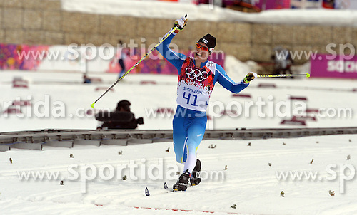 14.02.2014, Laura Cross-country Ski &amp; Biathlon Center, Krasnaya Polyana, RUS, Sochi, 2014, Herren Langlauf 15km, Classic, im Bild MATTI HEIKKINEN FINLAND // MATTI HEIKKINEN FINLAND during Mens Cross Country 15km Classic Race of the Olympic Winter Games Sochi 2014 at the Laura Cross-country Ski &amp; Biathlon Center in Krasnaya Polyana, Russia on 2014/02/14. EXPA Pictures &copy; 2014, PhotoCredit: EXPA/ Newspix/ TOMASZ JAGODZINSKI<br /> <br /> *****ATTENTION - for AUT, SLO, CRO, SRB, BIH, MAZ, TUR, SUI, SWE only*****