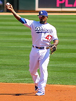 2015 March 14 Cleveland Indians @ Los Angeles Dodgers