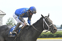 LEXINGTON, KY - APRIL 15: Watershed wins the 87th running of the Ben Ali (Grade 3) $200,000 for owner Godolphin, trainer Kiaran McLaughlin and jockey Paco Lopez.  April 15, 2017