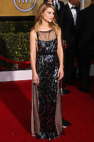 LOS ANGELES, CA - JANUARY 18: Claire Danes at the 20th Annual Screen Actors Guild Awards held at The Shrine Auditorium on January 18, 2014 in Los Angeles, California. (Photo by Xavier Collin/Celebrity Monitor)