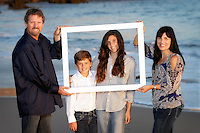 13 October 2013:  Matt, Julie, Leanna (13), Skyler (10) Eklund family photo session in Corona Del Mar, CA.