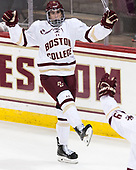 Colin White (BC - 18) - The Boston College Eagles defeated the visiting Colorado College Tigers 4-1 on Friday, October 21, 2016, at Kelley Rink in Conte Forum in Chestnut Hill, Massachusetts.The Boston College Eagles defeated the visiting Colorado College Tiger 4-1 on Friday, October 21, 2016, at Kelley Rink in Conte Forum in Chestnut Hill, Massachusett.