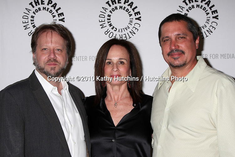 "Producers, Castle.arrives at the ""An Evening With Castle""  .Paley Center For Media.Los Angeles, CA.March 16, 2010.©2010 Kathy Hutchins / Hutchins Photo...."