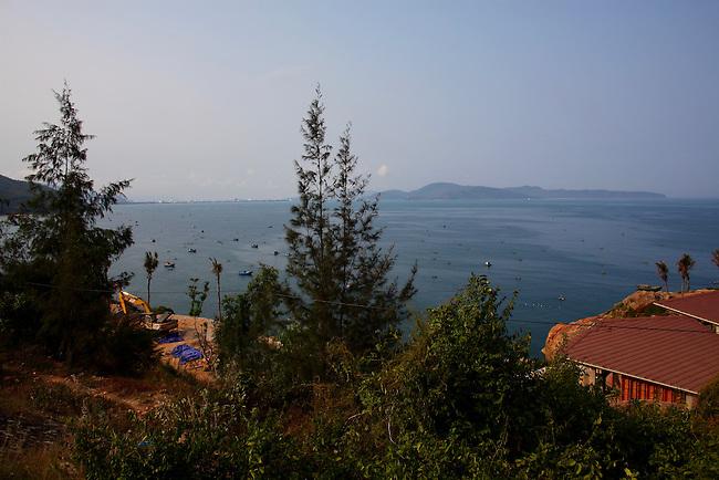 In the hills above Quy Nhon Bay. Quy Nhon, Vietnam. April 28, 2016.