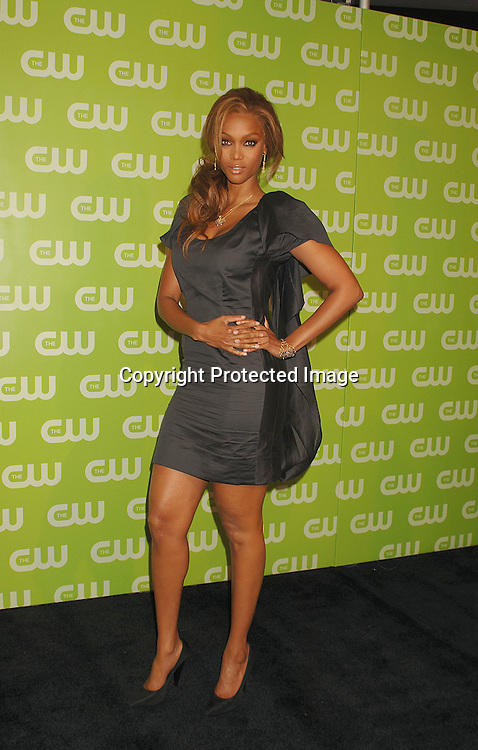Tyra Banks..arriving for The CW Upfront on May 17, 2007 at Madison Square Garden. ..Robin Platzer, Twin Images......212-935-0770