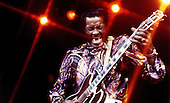 """CHUCK BERRY - Charles Edward Anderson """"Chuck"""" Berry (October 18, 1926 – March 18, 2017)- circa 1972.  Photo: MMMedia Archive/IconicPix"""