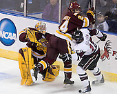 Kenny Reiter (Duluth - 35), Mike Montgomery (Duluth - 24), Kevin Sullivan (Union - 16) - The University of Minnesota-Duluth Bulldogs defeated the Union College Dutchmen 2-0 in their NCAA East Regional Semi-Final on Friday, March 25, 2011, at Webster Bank Arena at Harbor Yard in Bridgeport, Connecticut.