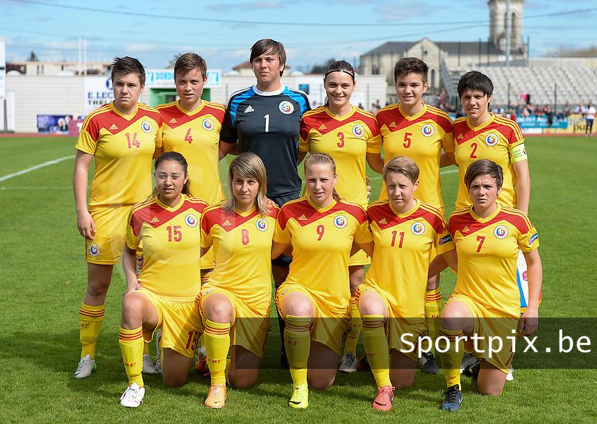 Romanian Soccer Team FRANCE SOCCER WOMEN UE...
