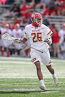 College Park, MD - February 25, 2017: Maryland Terrapins Isaiah Davis-Allen (26) sets up the offense during game between Yale and Maryland at  Capital One Field at Maryland Stadium in College Park, MD.  (Photo by Elliott Brown/Media Images International)