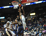 "Ole Miss' Demarco Cox (4) vs. East Tennessee State at the C.M. ""Tad"" Smith Coliseum in Oxford, Miss. on Saturday, December 14, 2012. Mississippi won 77-55 to improve to 7-1. (AP Photo/Oxford Eagle, Bruce Newman).."