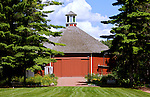 A collection of Barns that still can be seen while traveling the countryside in  the beautiful State of Wisconsin.<br /> Clausing Octagonal Barn - Old World Wisconsin.