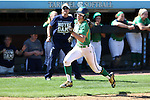 24 April 2016: Notre Dame's Bailey Bigler. The University of North Carolina Tar Heels hosted the University of Notre Dame Fighting Irish at Anderson Stadium in Chapel Hill, North Carolina in a 2016 NCAA Division I softball game. UNC won game 1 of the doubleheader 7-4.