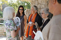 Relatives of the Jingu family mingle with event attendees during the grand re-opening of the Jingu House, Saturday, Oct. 22, 2011, at the Japanese Tea Garden in San Antonio, Texas, USA. (Darren Abate/pressphotointl.com)