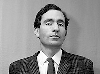 Albie Sachs, lawyer, anti-apartheid campaigner, South Africa, 197107000321a..Copyright Image from Victor Patterson, 54 Dorchester Park, Belfast, UK, BT9 6RJ..Tel: +44 28 9066 1296.Mob: +44 7802 353836.Voicemail +44 20 8816 7153.Skype: victorpattersonbelfast.Email: victorpatterson@mac.com.Email: victorpatterson@ireland.com (back-up)..IMPORTANT: If you wish to use this image or any other of my images please go to www.victorpatterson.com and click on the Terms & Conditions. Then contact me by email or phone with the reference number(s) of the image(s) concerned.