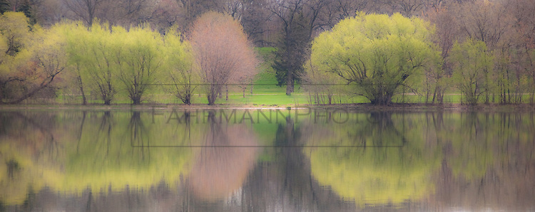 City Lake:  Images of Lake Nokomis - Landscapes & Nature Abstraction