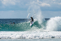 Snapper Rocks, Coolangatta, Queensland Australia. (Wednesday August 6, 2014) Joel Parkinson (AUS)  surfing at Snapper Rocks.–  There were small fun waves on offer on the Gold Coast this morning with the points working on the lower tide. Photo: joliphotos.com