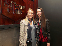 04/06/14<br /> (No Fee pixs)Ruth Wallace and Sarah Mallen arriving to the Stella Bass Album Launch &ldquo;TOO DARN HOT&rdquo; which took place in the Sugar Club Co Dublin this evening&hellip;<br /> Pic Collins  Photos