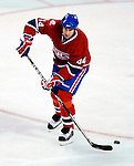 17 October 2009: Montreal Canadiens defenseman Roman Hamrlik in action against the Ottawa Senators at the Bell Centre in Montreal, Quebec, Canada. The Senators defeated the Canadiens 3-1. Mandatory Credit: Ed Wolfstein Photo