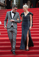 Michelle Williams &amp; Brian Selznick at the premiere for &quot;Wonderstruck&quot; at the 70th Festival de Cannes, Cannes, France. 18 May  2017<br /> Picture: Paul Smith/Featureflash/SilverHub 0208 004 5359 sales@silverhubmedia.com