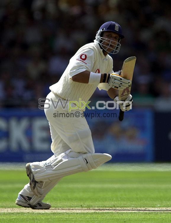 Pix: Matthew Lewis/SWpix.com. International Cricket. Third NPower Test. England v South Africa, Trent Bridge. 14/08/03..COPYRIGHT PICTURE>>SIMON WILKINSON>>0870 092 0092>>..England's Mark Butcher.