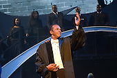 "August 26, 2011 (Washington, DC)    Actor Clifton Davis performs a rousing scene from ""M.L.K.: A Monumental Life"" tribute to Martin Luther King Jr. at the D.A.R. Constitution Hall in Washington.  The event, presented by Alpha Phi Alpha Fraternity, was a theatrical and musical celebration honoring Dr. King.  (Photo by Don Baxter/Media Images International)"