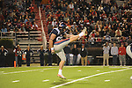 Ole Miss' Tyler Campbell (97) punts vs. Louisiana Tech in Oxford, Miss. on Saturday, November 12, 2011.