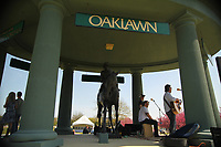 HOT SPRINGS, AR - MARCH 18: The infield before the running of the Rebel Stakes at Oaklawn Park on March 18, 2017 in Hot Springs, Arkansas. (Photo by Justin Manning/Eclipse Sportswire/Getty Images)