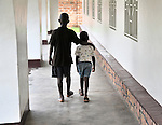 Two boys in the Mary Morris Orphanage, run by the United Methodist Church in Kamina, Democratic Republic of the Congo.