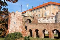 Siklos castle ( siklosi var) near Villany, Hungary
