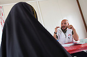 MSF medical facility for displaced people, Iraq