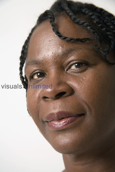 Portrait of mature woman. MR
