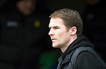 St Johnstone v Partick Thistle...29.03.14    SPFL<br /> Partick boss Alan Archibald<br /> Picture by Graeme Hart.<br /> Copyright Perthshire Picture Agency<br /> Tel: 01738 623350  Mobile: 07990 594431
