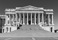 The north wing (Senate wing) of the U.S. Capitol Building in Washington, DC.