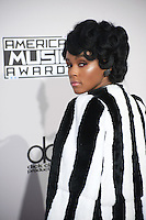 LOS ANGELES, CA. November 20, 2016: Singer Janelle Monae at the 2016 American Music Awards at the Microsoft Theatre, LA Live.<br /> Picture: Paul Smith/Featureflash/SilverHub 0208 004 5359/ 07711 972644 Editors@silverhubmedia.com