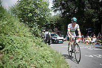 TT World Champion Vasil Kiryienka (BLR/SKY)<br /> <br /> Stage 18 (ITT) - Sallanches &rsaquo; Meg&egrave;ve (17km)<br /> 103rd Tour de France 2016