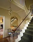 Design: Margret Morfit, Interior Designer.Bowdoin President's House.Brunswick, Me..