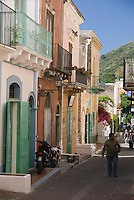 Salina, Eolian Islands, Italy, June 2006. San Marina Salina.The Volcanic Eolian Islands of Southern Italy offer a spectacular landscape for trekking while staying in picturesque towns. Photo by Frits Meyst/Adventure4ever.com